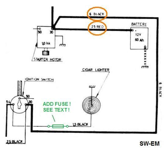 Wiring Diagram For Car Cigarette Lighter