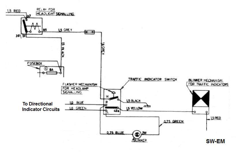 amazon indicator wiring volvo owners club forum op have given good info but i like a circuit diagram for the overview i get from it and i happen to have the directional indicator circuit as an