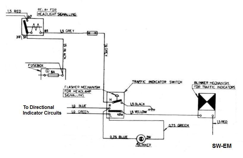 Amazon: - Indicator wiring - Volvo Owners Club Forum | Volvo Amazon Wiring Diagram |  | Volvo Forums
