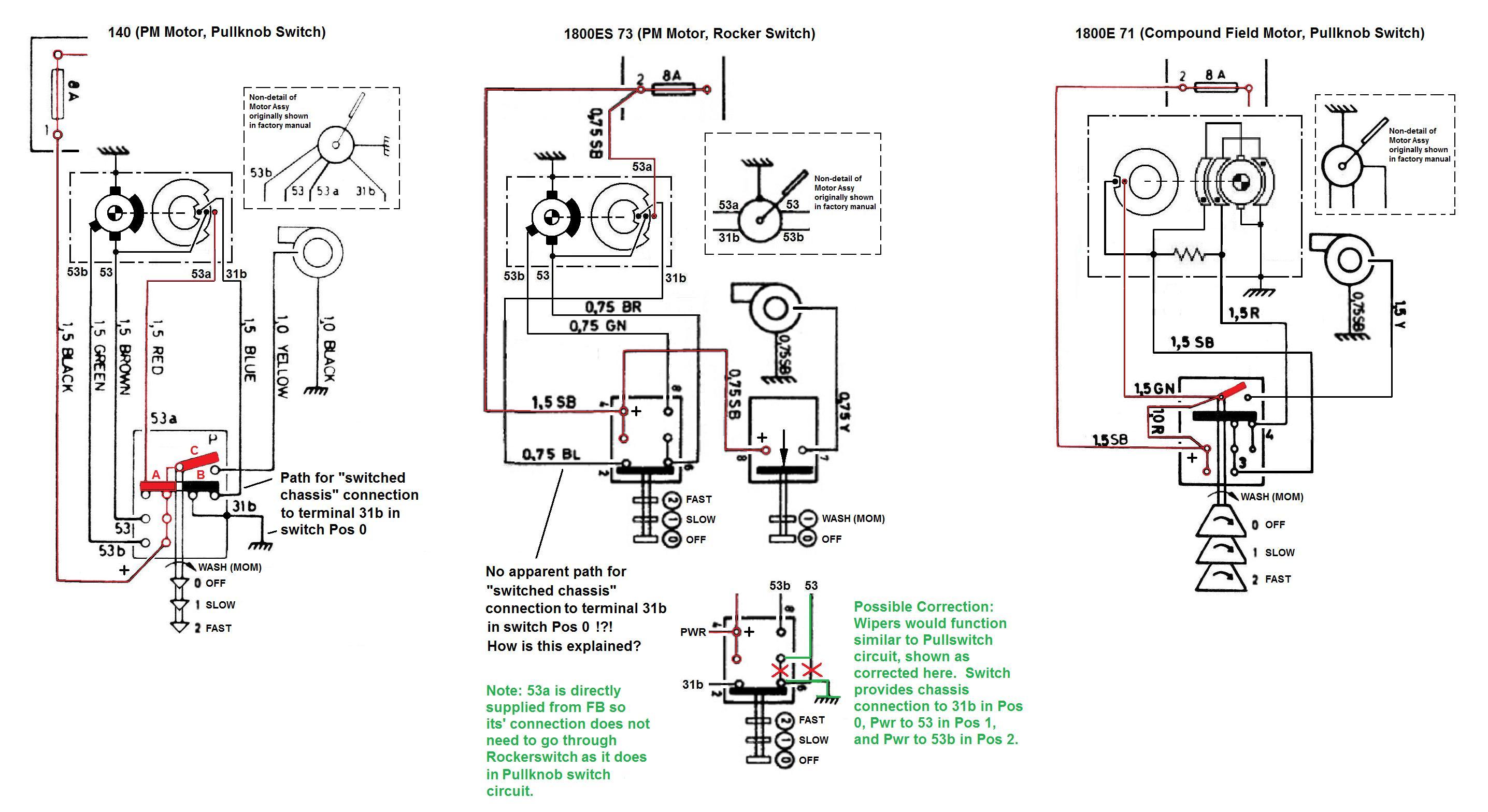 Beste Wischermotor Schaltplan Bilder - Schaltplan Serie Circuit ...