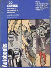 Autobooks 120 Series Volvo Owners Workshop Manual Ball Kenneth