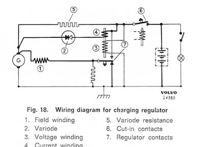 sw em amp indicator on simplified charging system wiring diagram