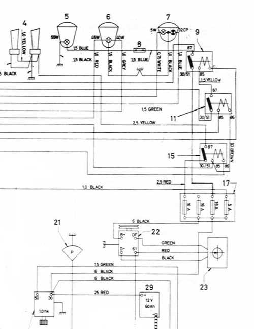 Partial Wiring Diagram Of 123gt Showing Fuseblock 2: Volvo Wiring Diagrams 121 1966 At Jornalmilenio.com