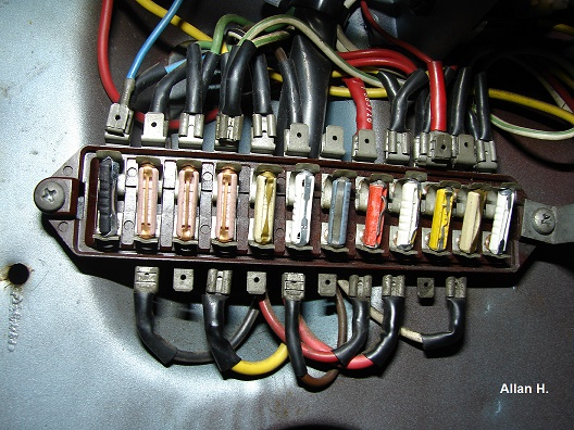 SW-EM Fuses, Allocation and Troubleshooting | Volvo P1800 Fuse Box |  | Sw-Em