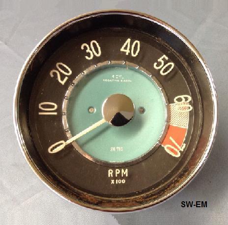 sw em smith's tachometer small 6 volt motors smith's second generation model no model no rvi 3410 00