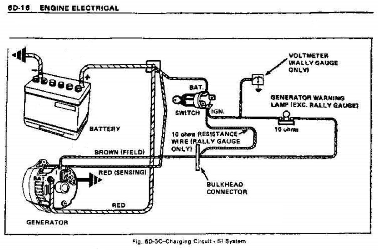 sw-em gm alternator charging system  sw-em